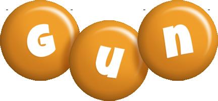 Gun candy-orange logo