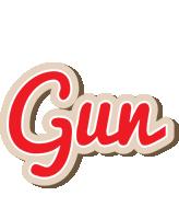Gun chocolate logo