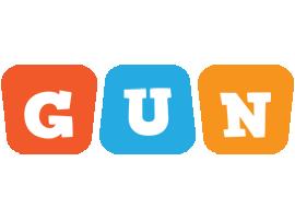 Gun comics logo