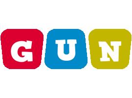 Gun daycare logo