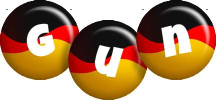 Gun german logo