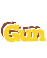 Gun hotcup logo