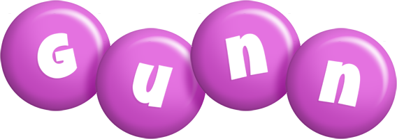 Gunn candy-purple logo