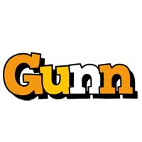 Gunn cartoon logo