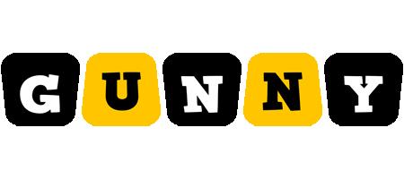 Gunny boots logo