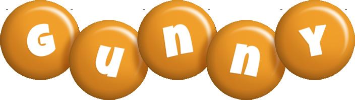 Gunny candy-orange logo