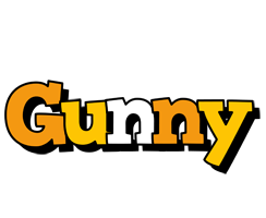Gunny cartoon logo