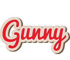Gunny chocolate logo