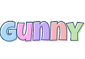 Gunny pastel logo