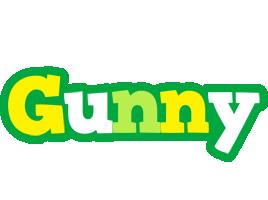 Gunny soccer logo