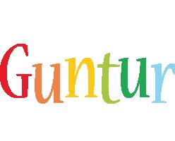 Guntur birthday logo