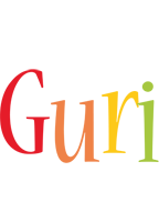 Guri birthday logo