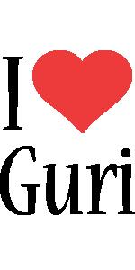 Guri i-love logo