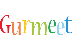 Gurmeet birthday logo