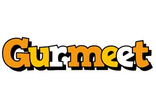 Gurmeet cartoon logo