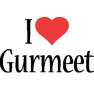 Gurmeet i-love logo