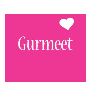Gurmeet love-heart logo
