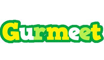 Gurmeet soccer logo