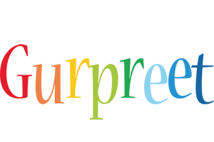 Gurpreet birthday logo