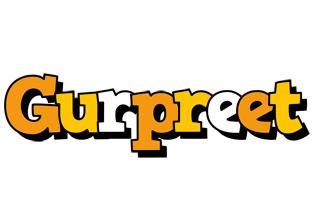 Gurpreet cartoon logo