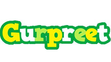 Gurpreet soccer logo