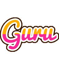 Guru smoothie logo