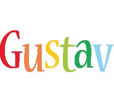 Gustav birthday logo