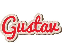 Gustav chocolate logo