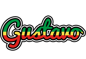 Gustavo african logo