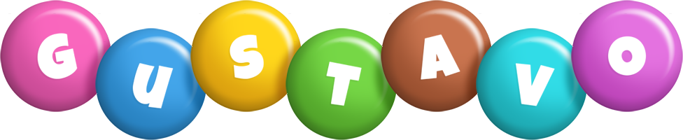 Gustavo candy logo