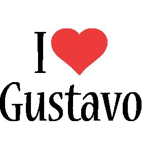 Gustavo i-love logo