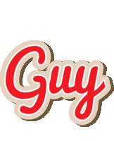 Guy chocolate logo