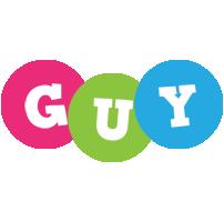 Guy friends logo