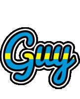 Guy sweden logo