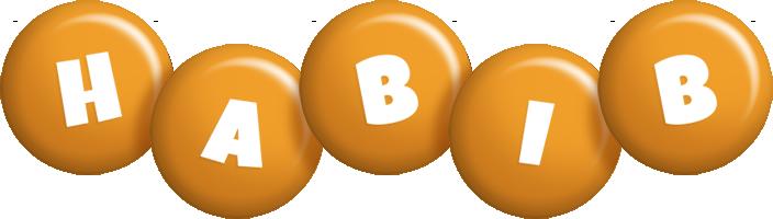 Habib candy-orange logo