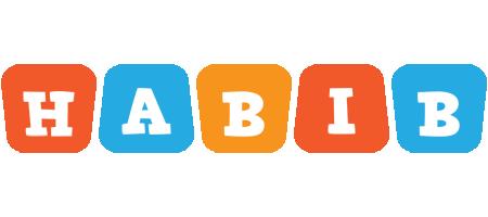 Habib comics logo
