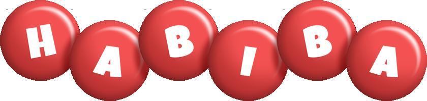 Habiba candy-red logo