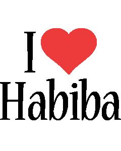 Habiba i-love logo
