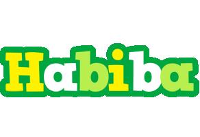 Habiba soccer logo