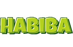 Habiba summer logo