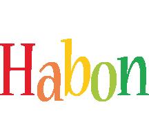 Habon birthday logo