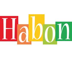 Habon colors logo