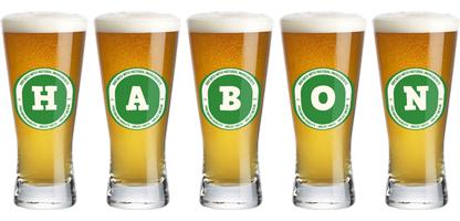 Habon lager logo