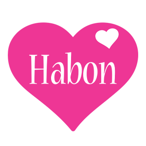 Habon love-heart logo