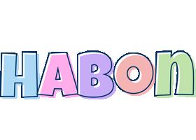 Habon pastel logo