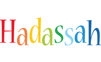 Hadassah birthday logo