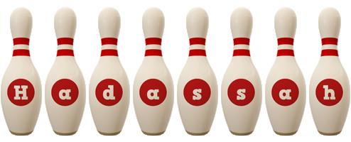 Hadassah bowling-pin logo