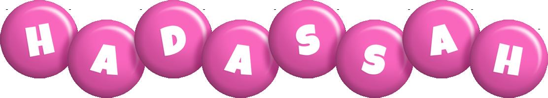Hadassah candy-pink logo