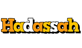 Hadassah cartoon logo