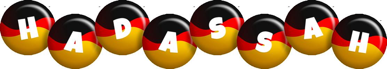 Hadassah german logo